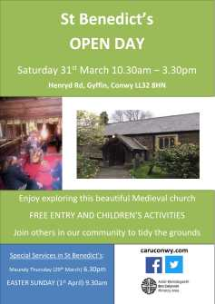 St Benedict's Easter Open Day-1