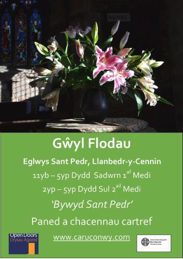 Gwyl Flodau Llanbedr 2018-updated