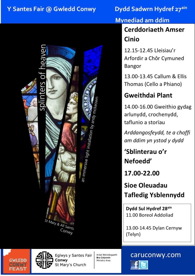 Splinters of Heaven (Cymraeg)