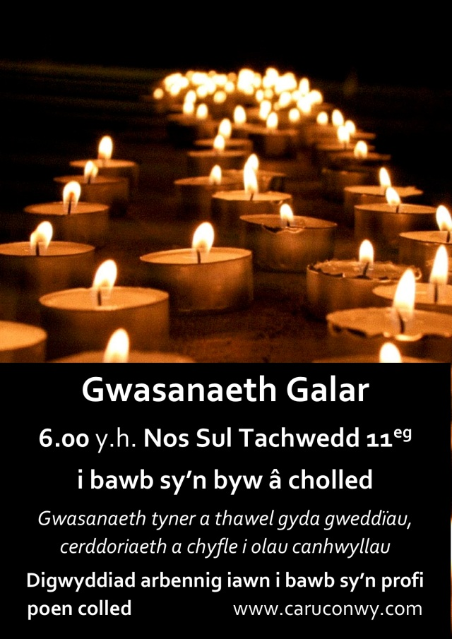 bereavement service WELSH