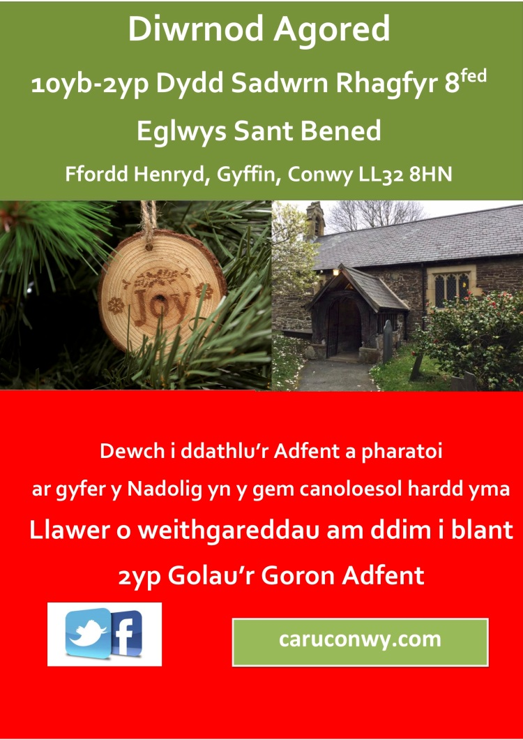 St Benedict's Open Day Dec 18 WELSH