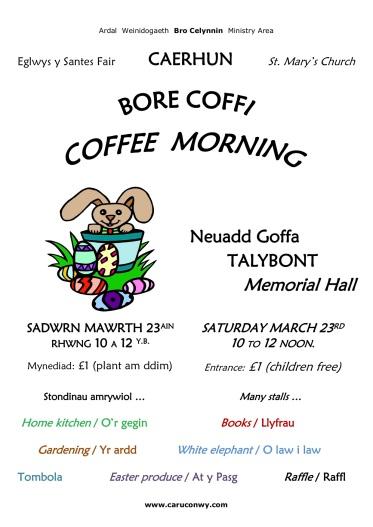 Coffee Morning 23-Mar-19