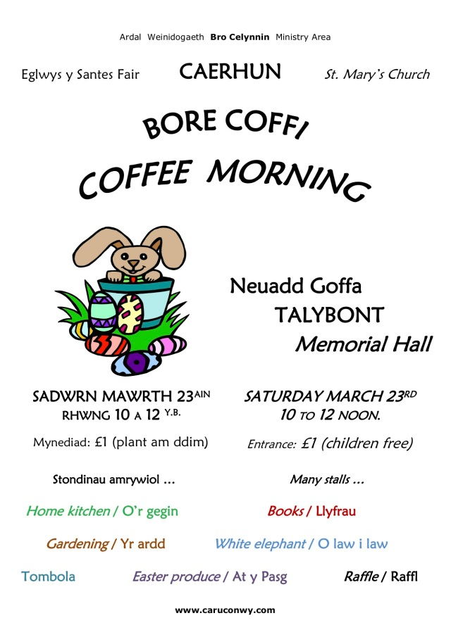 Coffee Morning 23-Mar-19