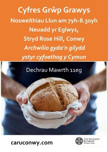 LENT SERIES poster 2019 Cymraeg