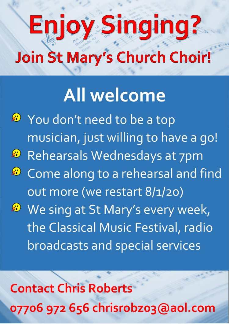 Choir poster 19-1