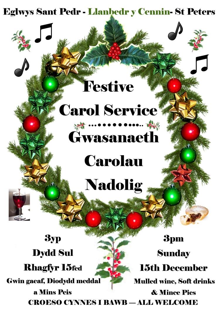 Christmas Concert Poster A2 Bilingual version