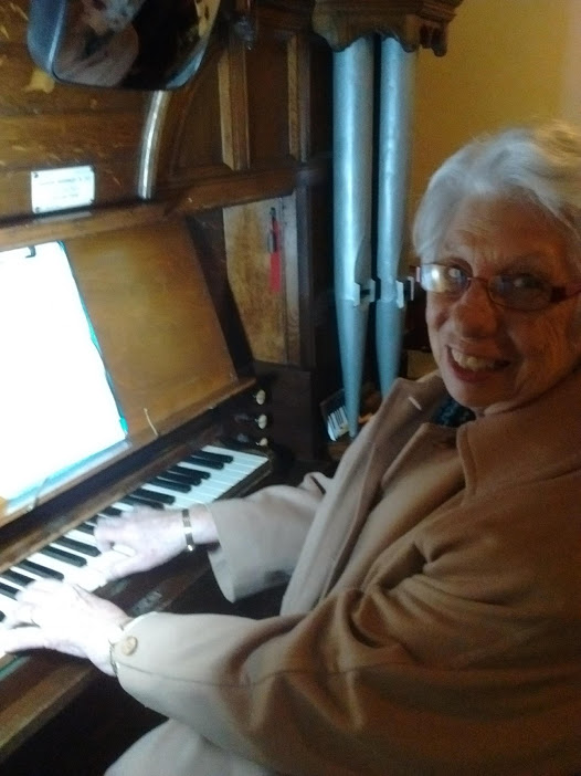 Asrid at the St B organ 2020_02_02