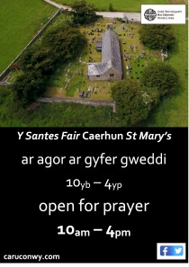 Caerhun open for prayer