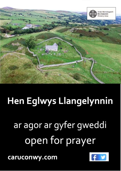 Llangelynnin open for prayer