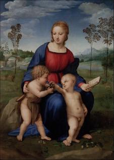 Mary with Jesus & John the Baptist