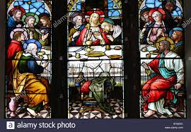 The Last Supper Window