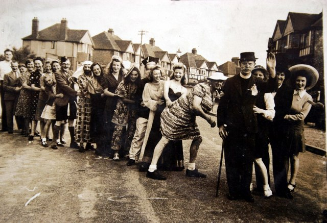 VE Day Conga